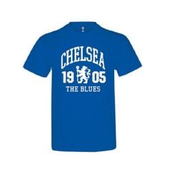 Chelsea Kungsblå T-shirt för barn / barn med Blues-designen 9-11