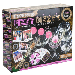Christmas Shop Prosecco Fizzy Dizzy Kit One Size Clear / Pink