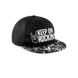 CID Originals Keep On Rockin Snapback-keps One Size Svart