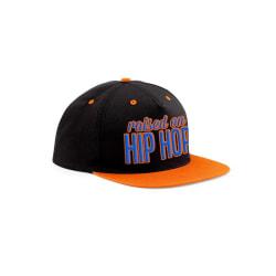 CID Originals Raised On Hip Hop Bright Snapback Cap One Size Sva