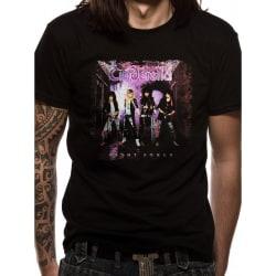 Cinderella Unisex vuxna nattlåtar design T-shirt XL Svart