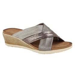 Cipriata Anella Crossover Wedge Sandaler för kvinnor / damer 5 U
