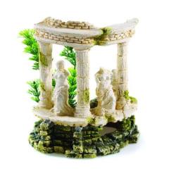 Classic Polyresin Grecian Goddess Aquarium Ornament 18cm Off-whi