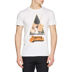 Clockwork Orange Unisex vuxen kniv design T-shirt XL Vit