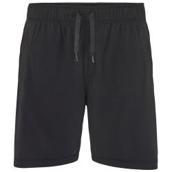 Comfy Co Elasticated Lounge Shorts för herrar M Svart
