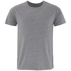 Comfy Co Mäns sömnig T-shirt med kort ärm T-shirt 2XL Träkol