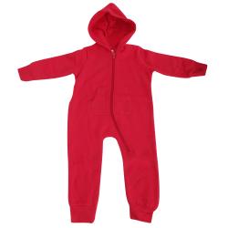 Comfy Co Unisex Baby Hooded Full Zip Onesie / Allt-i-ett 18/24mt