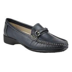 Cotswold Barrington Slip On Shoes för damer 37 EUR Marin