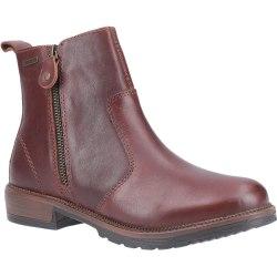 Cotswold Dam / Ashwicke Zip Leather Ankle Boot 6 UK Brun