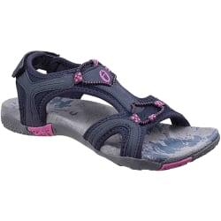Cotswold Dam / Cerney sandaler för damer 4 UK Marin