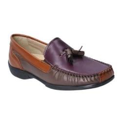 Cotswold Dam / Damer Biddlestone Läder Slip On Loafer Sko 6 UK F