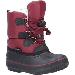 Cotswold Kids Explorer Bungee Lace Snow Boot 13 UK Child Röd