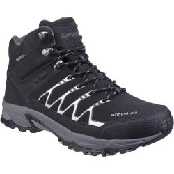 Cotswold Mens Abbeydale Mid Hiking Boots 12 UK Svart / Grå