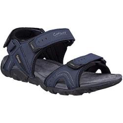 Cotswold Rodmarton Walking Sandaler för män 12 UK Marinblå / Grå