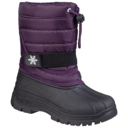Cotswold Snöstövlar för barn / barn 2 UK Lila