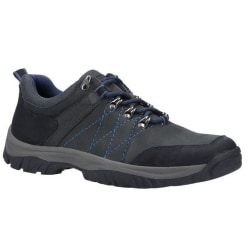 Cotswold Toddington Lace Up Nubuck läderskor för män 7 UK Marin