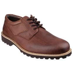 Cotswold Tuffley Lace Up-skor för herrar 8 UK Brun