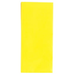 County 10 Sheets Yellow Tissue Papers (12 Pack) 50 x 70cm Gul