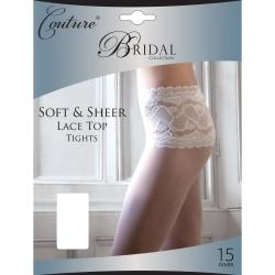 Couture Dam / Bröllop för mjuka och rena spetsar i midjan (1 par
