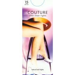 """Couture Dam / Nylon 15 Denier Tights (1 par) One Size (5ft1""""-5ft"""