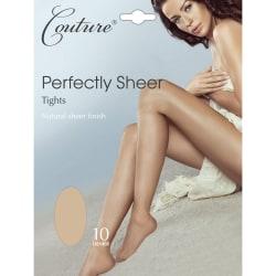 Couture Kvinnor / damer perfekt ren tights (1 par) Large Naken