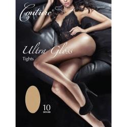 Couture Ultra Gloss Tights för kvinnor / damer (1 par) Large Nat
