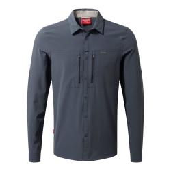 Craghoppers Herr NosiLife ProII långärmad skjorta XL Ombre Blue
