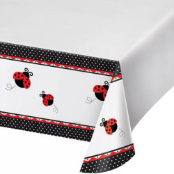 Creative Converting 108in Ladybird Printed Plastic Tablecover 10