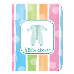Creative Converting Babyduschinbjudningar med kuvert (paket med