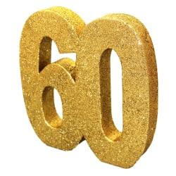 Creative Party guld glitter bord dekoration 60 Guld