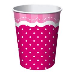 Creative Party Perfekt rosa partikoppar (paket med 8) One Size R