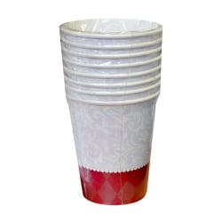 Creative Party Ruby Wishes 9oz Cups (paket med 8) One Size Röd v