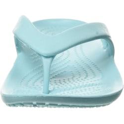 Crocs Kadee II flip flops för kvinnor / damer 3 UK Isblå