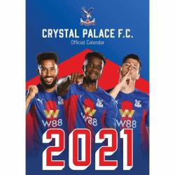 Crystal Palace FC 2021 A3-kalender One Size Flerfärgade