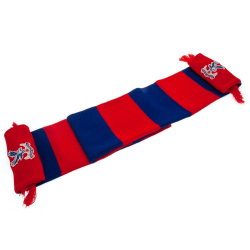 Crystal Palace FC Bar Winter Scarf One Size Blå röd