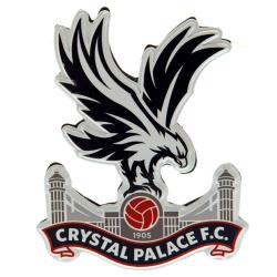 Crystal Palace FC Crest Magnet One Size Grå / svart / röd