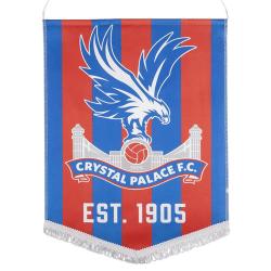 Crystal Palace FC Crest Vimpel One Size Blå röd