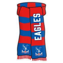 Crystal Palace FC Officiell Visa dina färgtecken One Size Röd bl