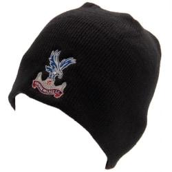 Crystal Palace FC Vuxna Unisex 47 Stickad hatt One Size Svart