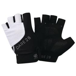 Dare 2b Kvinnor / damer tvångsfingerlösa handskar XS Svart vit
