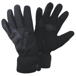 Dare 2b Unisex vuxna ljusa vattentäta handskar S/M Svart