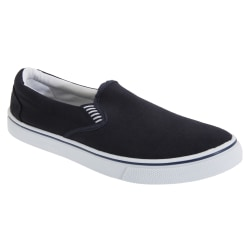 Dek Herr Gusset Casual Canvas Yachting Shoes 10 UK Marinblå