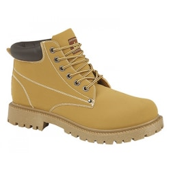 Dek Mens Oasis 6 Eye Padded Collar Boots 10 UK Honung