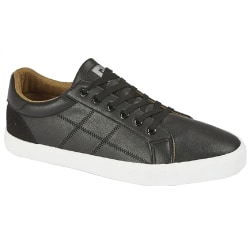 Dek Mens Scope 6 Eyelet Lace Up Trainer 9 UK Svart