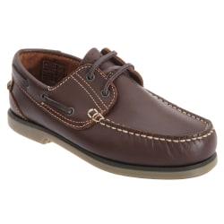 Dek Pojkar Moccasin Boat Shoes 6 UK Brun