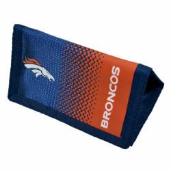 Denver Broncos Officiell NFL Fade Crest Design plånbok One Size