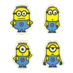 Despicable Me Minions Pencil Topper Set (paket med 4) One Size G