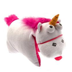 Despicable Me Officiell fluffig Unicorn vikkudde One Size Vit /