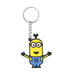 Despicable Me Officiella Minions Tim PVC Keyring One Size Gul /