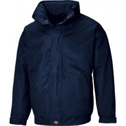 Dickies Cambridge Jacket för herrar (dold huva) S Marinblå
